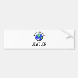 World s Greatest Jeweler Bumper Stickers