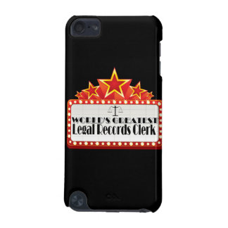 World s Greatest Legal Records Clerk iPod Touch (5th Generation) Case