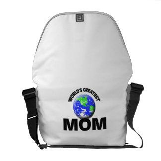 World s Greatest Mom Messenger Bag