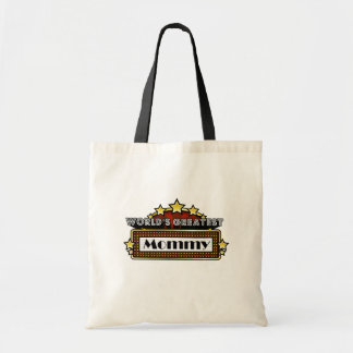 World s Greatest Mommy Canvas Bags