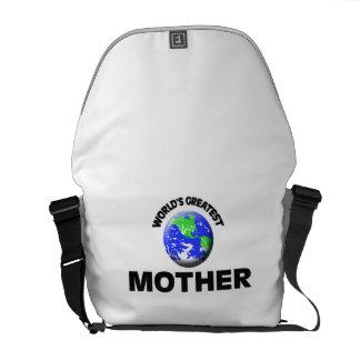World s Greatest Mother Messenger Bag