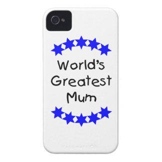 World s Greatest Mum blue stars Blackberry Bold Case