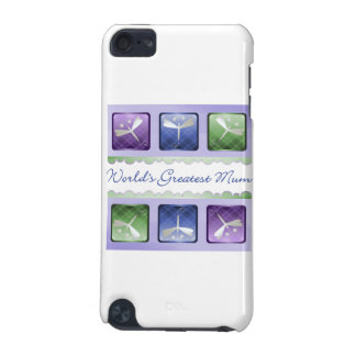 World s Greatest Mum dragonflies iPod Touch 5G Cover