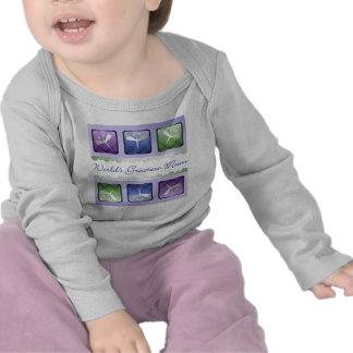 World s Greatest Mum dragonflies Tee Shirt