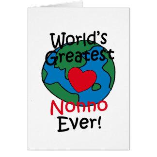 World's Greatest Nonno Heart Cards