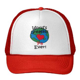World's Greatest Pa Heart Hats