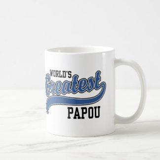World's Greatest Papou Coffee Mug