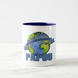 World s Greatest Papou Coffee Mugs