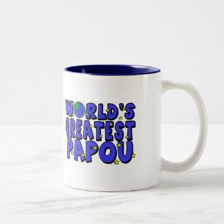 World s Greatest Papou Mugs