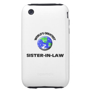 World s Greatest Sister-In-Law iPhone 3 Tough Cover