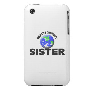 World s Greatest Sister iPhone 3 Case