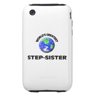 World s Greatest Step-Sister Tough iPhone 3 Case