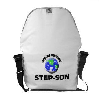 World s Greatest Step-Son Messenger Bag