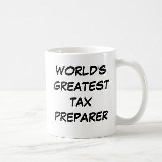 World s Greatest Tax Preparer Mug