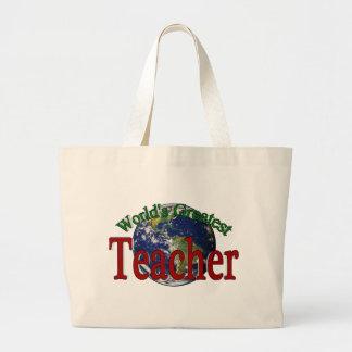 World s Greatest Teacher Bag