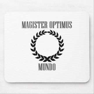 World's Greatest Teacher (Male) Mouse Pad