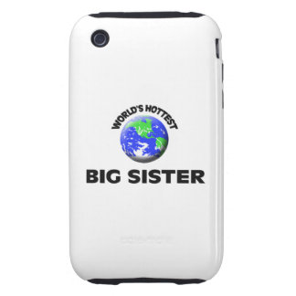 World s Hottest Big Sister Tough iPhone 3 Cover