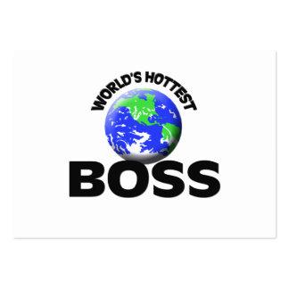 World s Hottest Boss Business Card