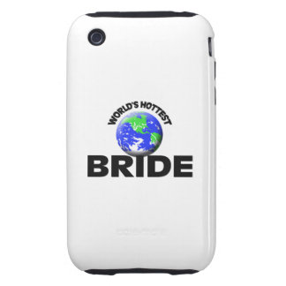 World s Hottest Bride iPhone 3 Tough Cover