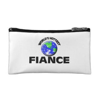 World s Hottest Fiance Cosmetic Bags