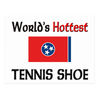 World s Hottest Tennis Shoe Post Cards