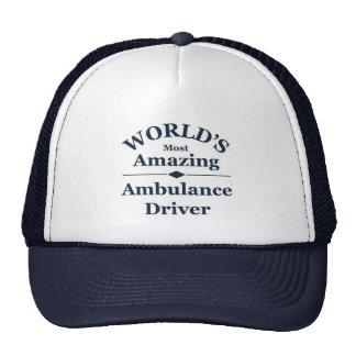 World`s most amazing Ambulance Driver Cap