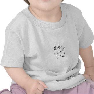World s Okayest Dad Tee Shirt