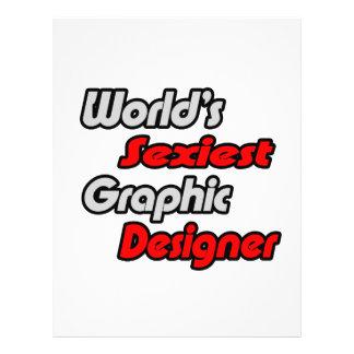 World s Sexiest Graphic Designer Custom Flyer