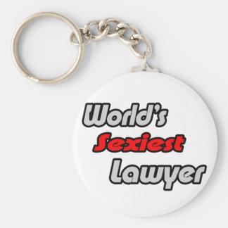 World s Sexiest Lawyer Key Chain