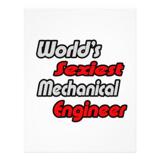 World s Sexiest Mechanical Engineer Flyers