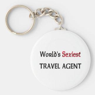 World s Sexiest Travel Agent Keychain