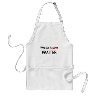 World s Sexiest Waiter Aprons