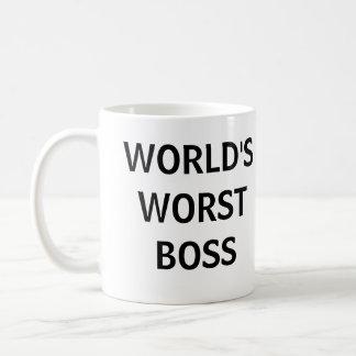 World s Worst Boss Mug