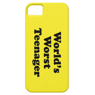 world s worst teenager iPhone 5 cover