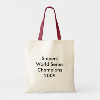 World Series Champions Budget Tote Bag