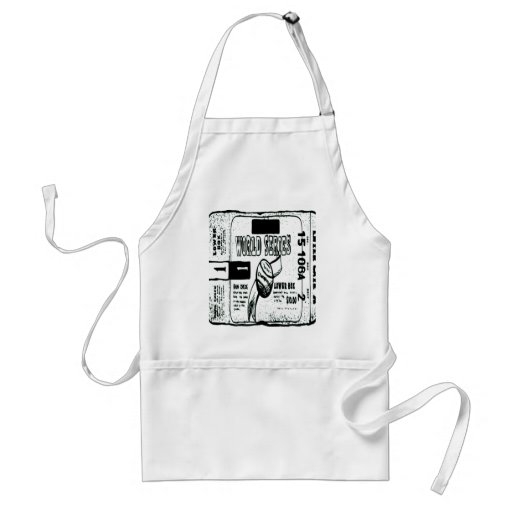 WORLD SERIES TICKET APRONS