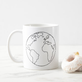 World Sketch Mug