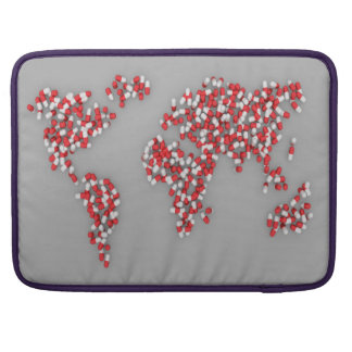 World Sleeve For MacBook Pro