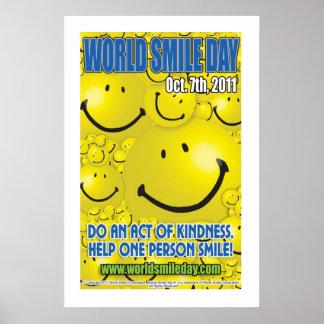 World Smile Day® 2011 Poster