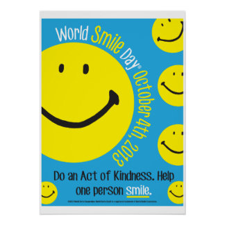 World Smile Day 2013 Poster 20x28