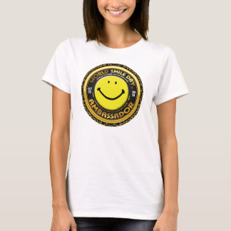 World Smile Day® 2014 Ambassador Woman's Shirt