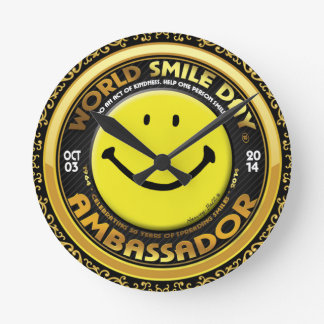 World Smile Day® 2014 Clock