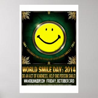 World Smile Day® 2014 Poster