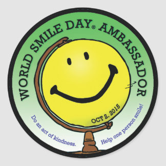 World Smile Day® 2015 Ambassador Stickers