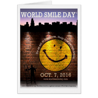 World Smile Day® 2016 Greeting Card