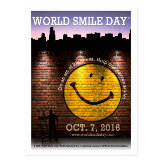 World Smile Day® 2016 Postcards