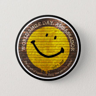 World Smile Day® Ambassador 2016 Button