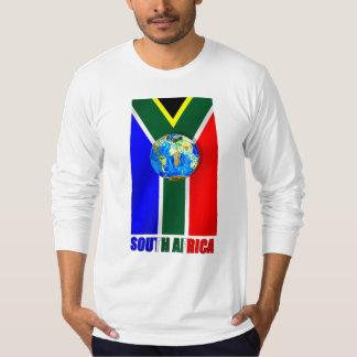 World Soccer South Africa Soccer ball globe Tee Shirt