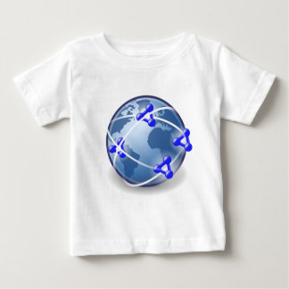World Social Network Baby T-Shirt