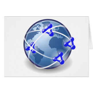 World Social Network Card